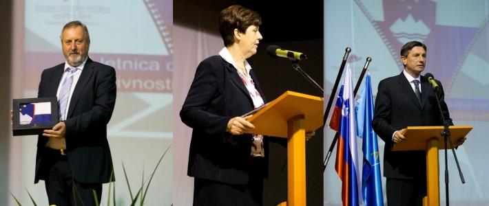 Otvoritev razstave 25-letnica osamosvojitvenih aktivnosti na Bistriškem