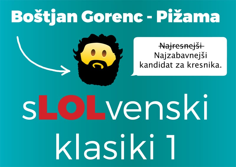 Obiskal nas je Boštjan Gorenc – Pižama