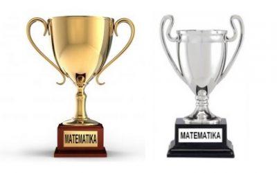 Zlato in srebro na državnem tekmovanju iz matematike
