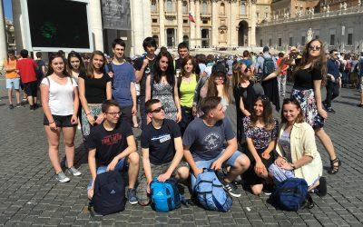 Strokovna ekskurzija v Rim in Neapelj za 3. letnik gimnazije