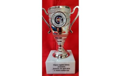 Ekipno 2. mesto na regijskem prvenstvu v lokostrelstvu