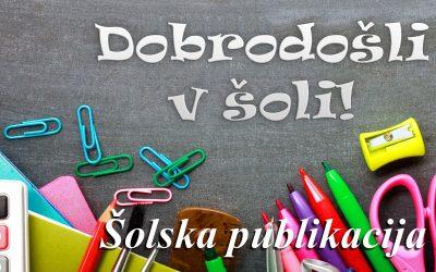 Šolska publikacija 2018/19