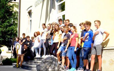 Sprejem dijakov in dijakinj 1. letnika Gimnazije Ilirska Bistrica