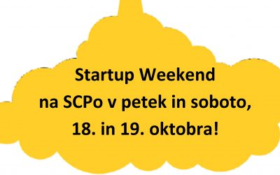 StartUp Weekend na ŠC Postojna