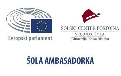 Gimnazija Ilirska Bistrica sodeluje v projektu Šola ambasadorka Evropskega parlamenta – EPAS