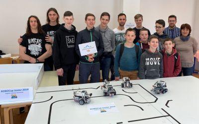 Regijsko robotsko tekmovanje ROBOCupJunior 2019