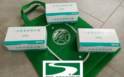 Podjetje TIB Storitve doniralo zaščitne maske