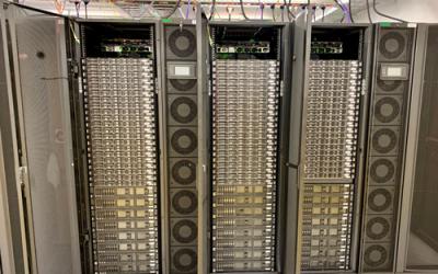 Ogled superračunalniškega centra