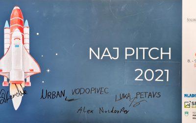 """""""Naj pitch 2021"""" dijakom Gimnazije Ilirska Bistrica"""